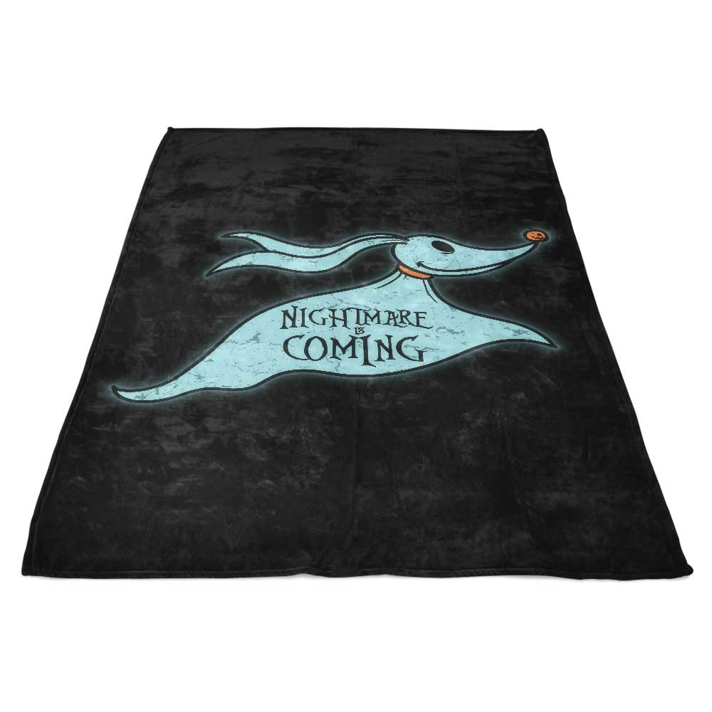 Halloween is Coming - Fleece Blanket