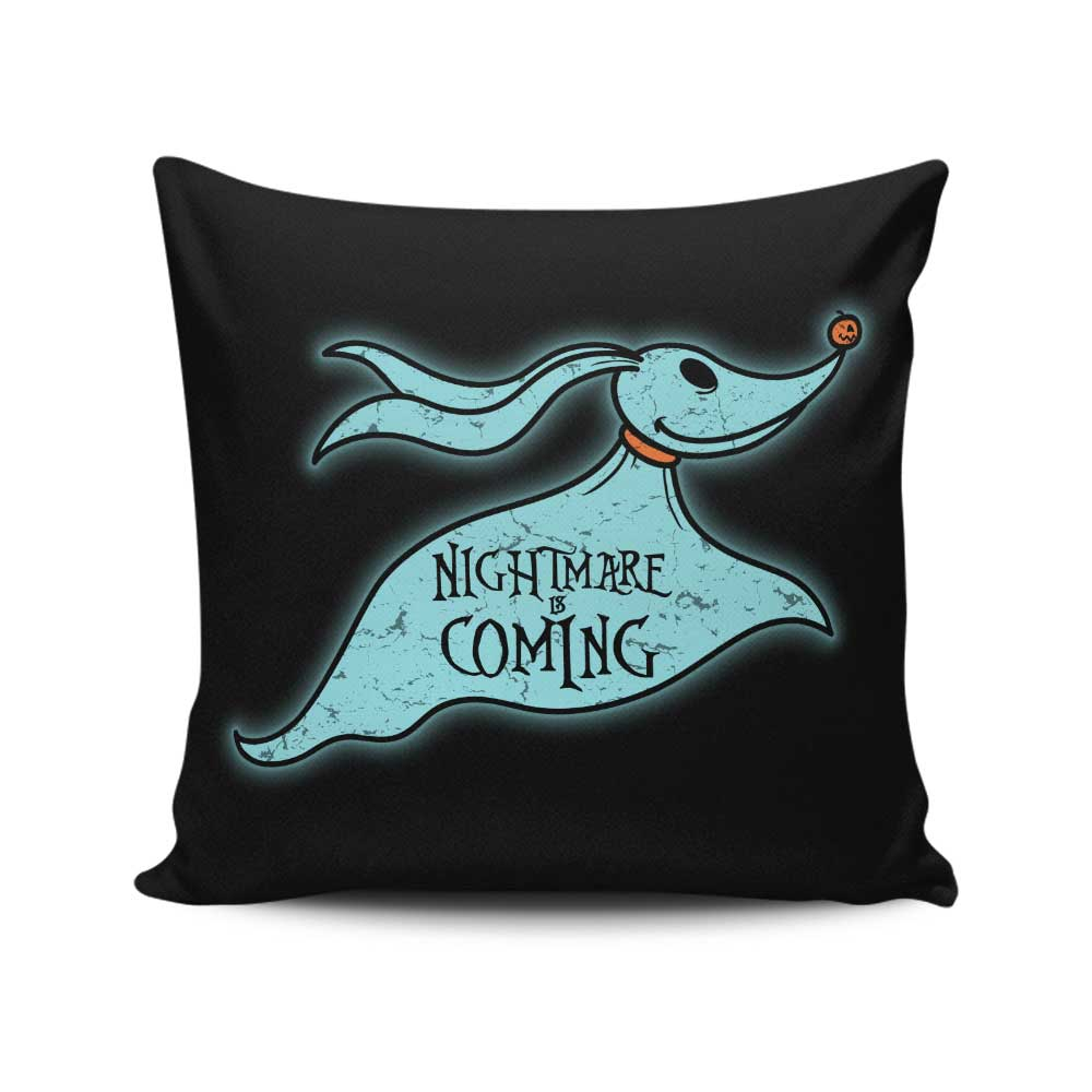 Halloween is Coming - Throw Pillow