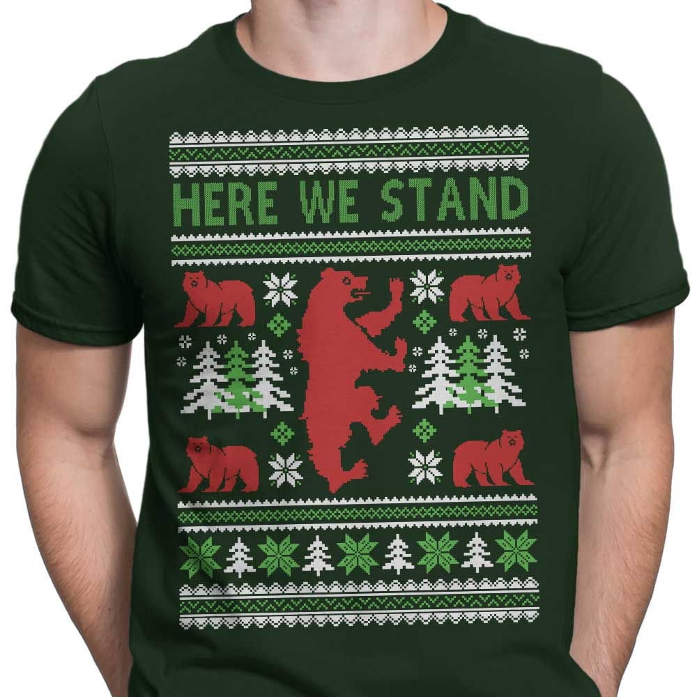 Here We Knit - Men's Apparel