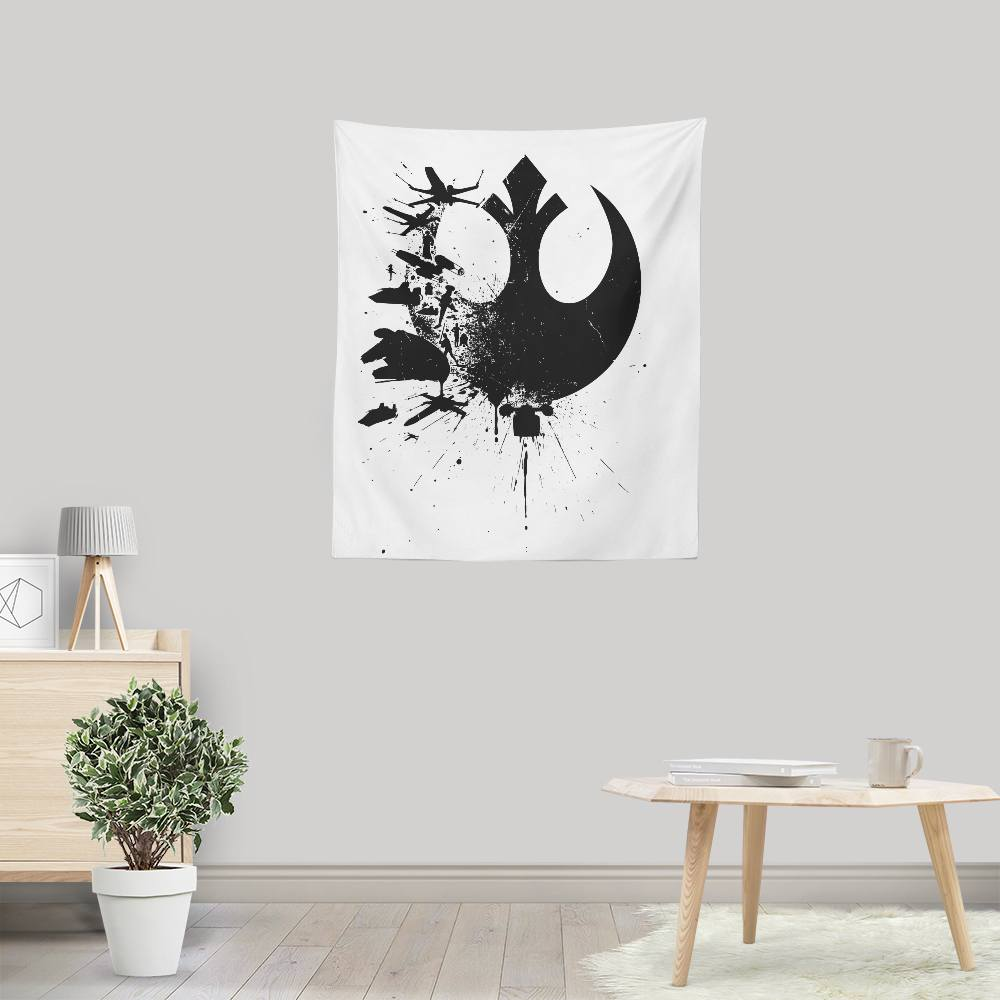 Heroes of the Rebellion (Alt) - Wall Tapestry