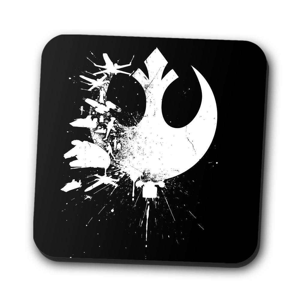 Heroes of the Rebellion - Coasters