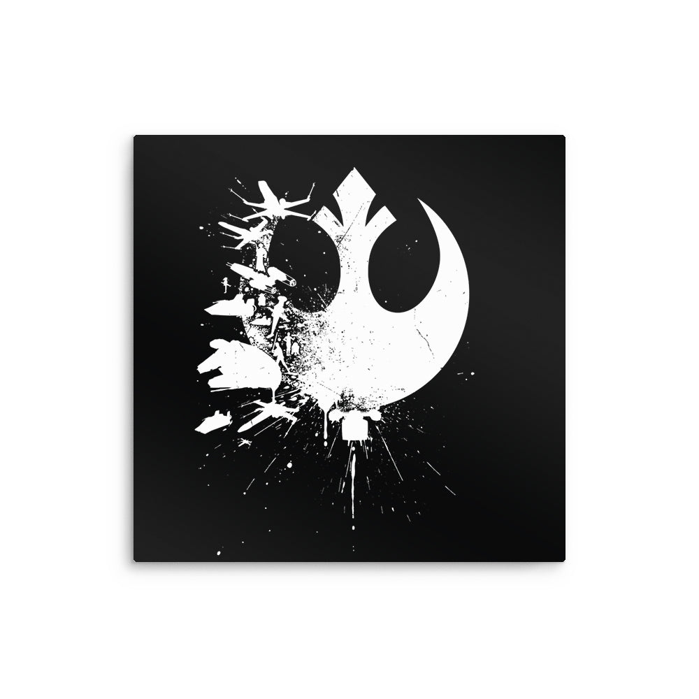 Heroes of the Rebellion - Metal Print