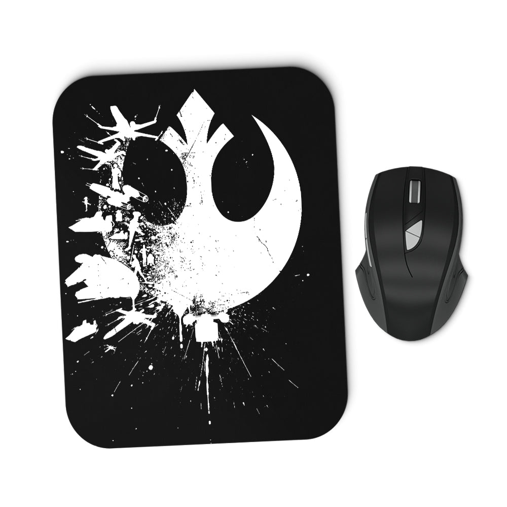 Heroes of the Rebellion - Mousepad