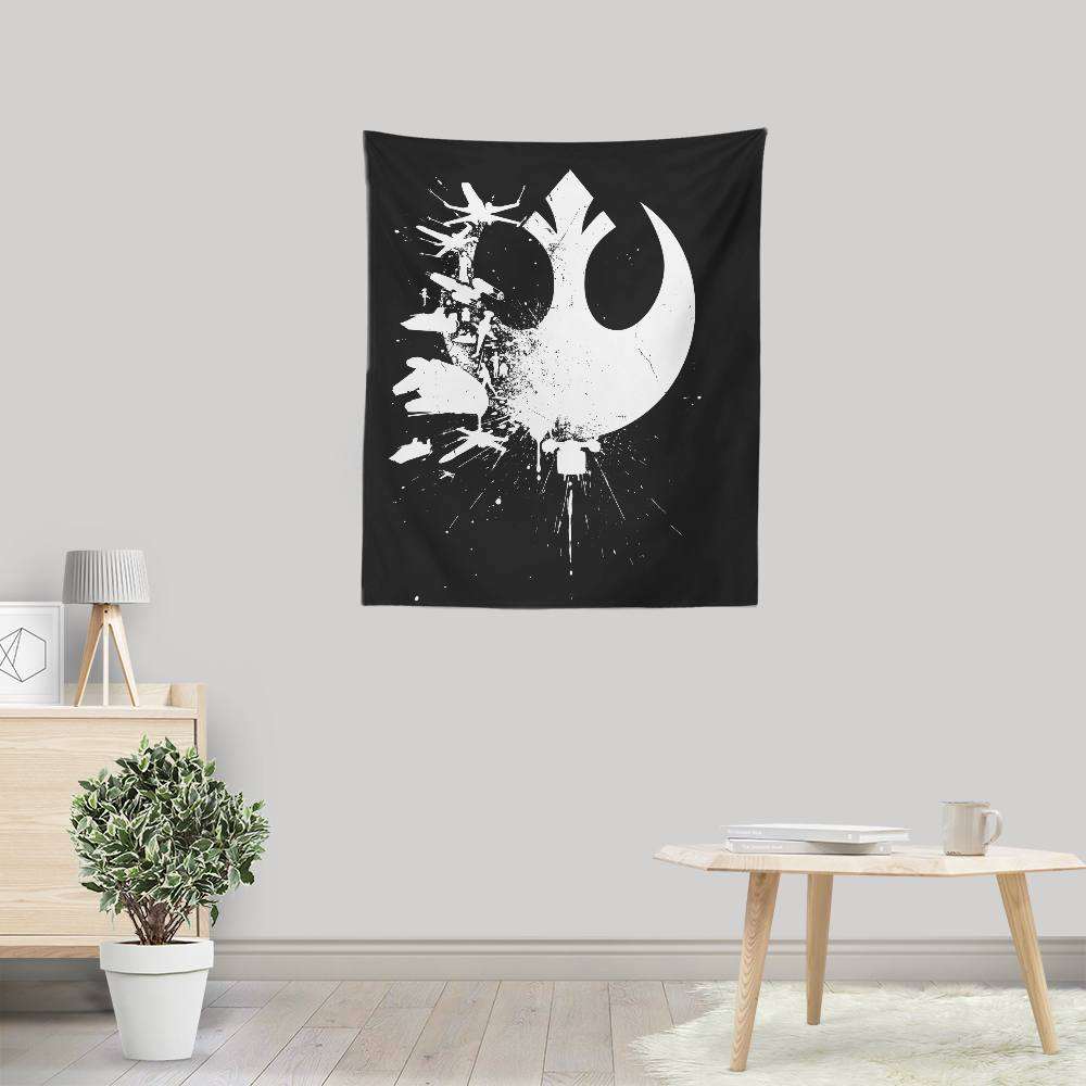 Heroes of the Rebellion - Wall Tapestry