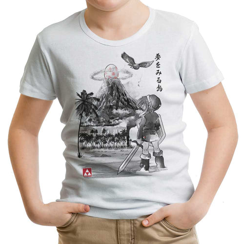 Hero's Awakening Sumi-e - Youth Apparel