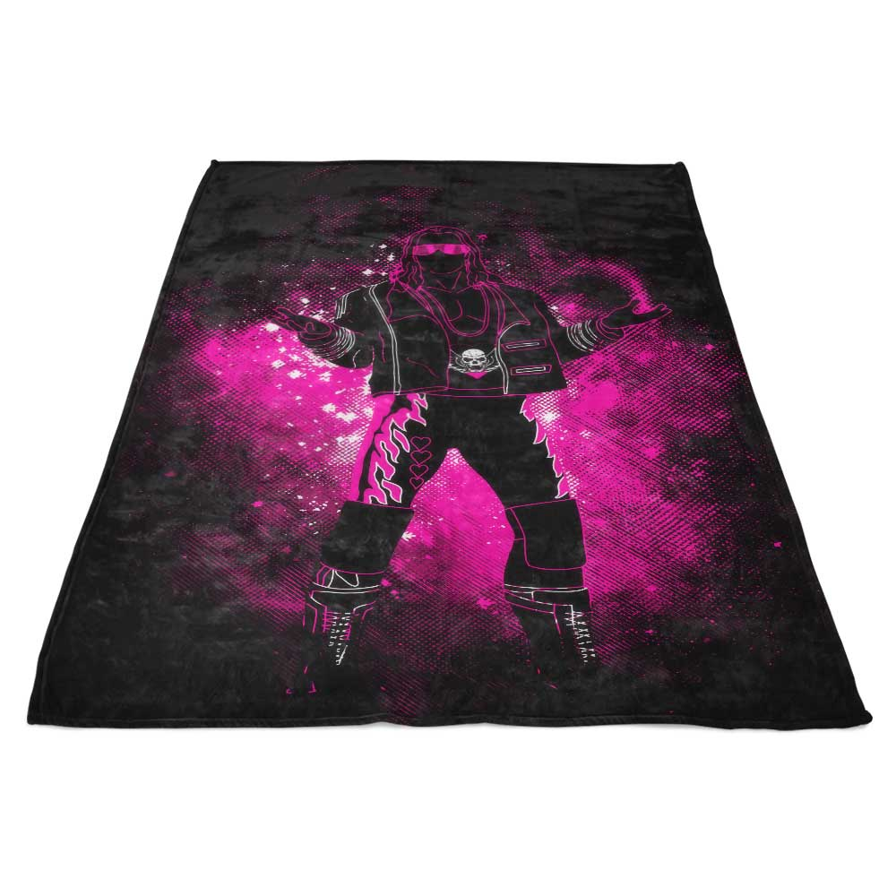 Hitman Art - Fleece Blanket
