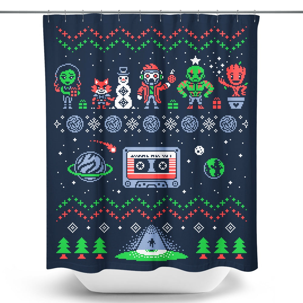 Holiday Guardians - Shower Curtain