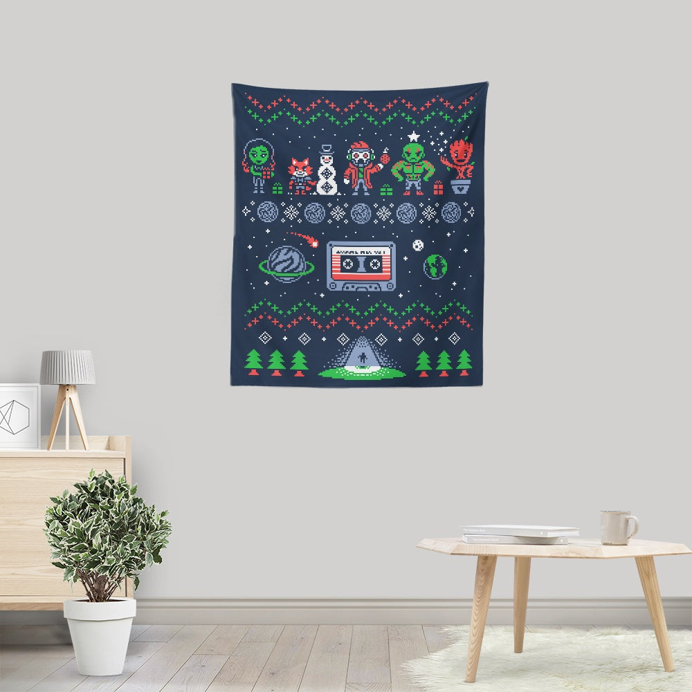 Holiday Guardians - Wall Tapestry