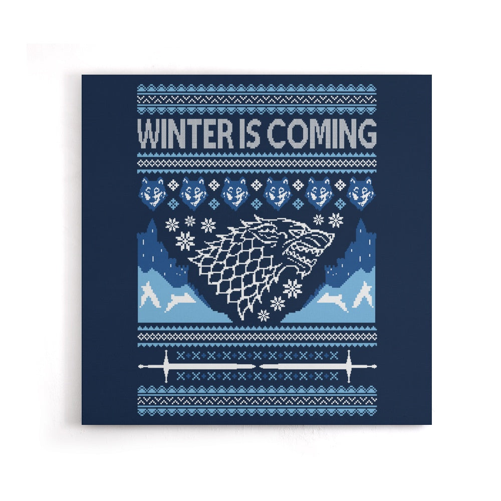 Holidays are Coming (Alt) - Canvas Print