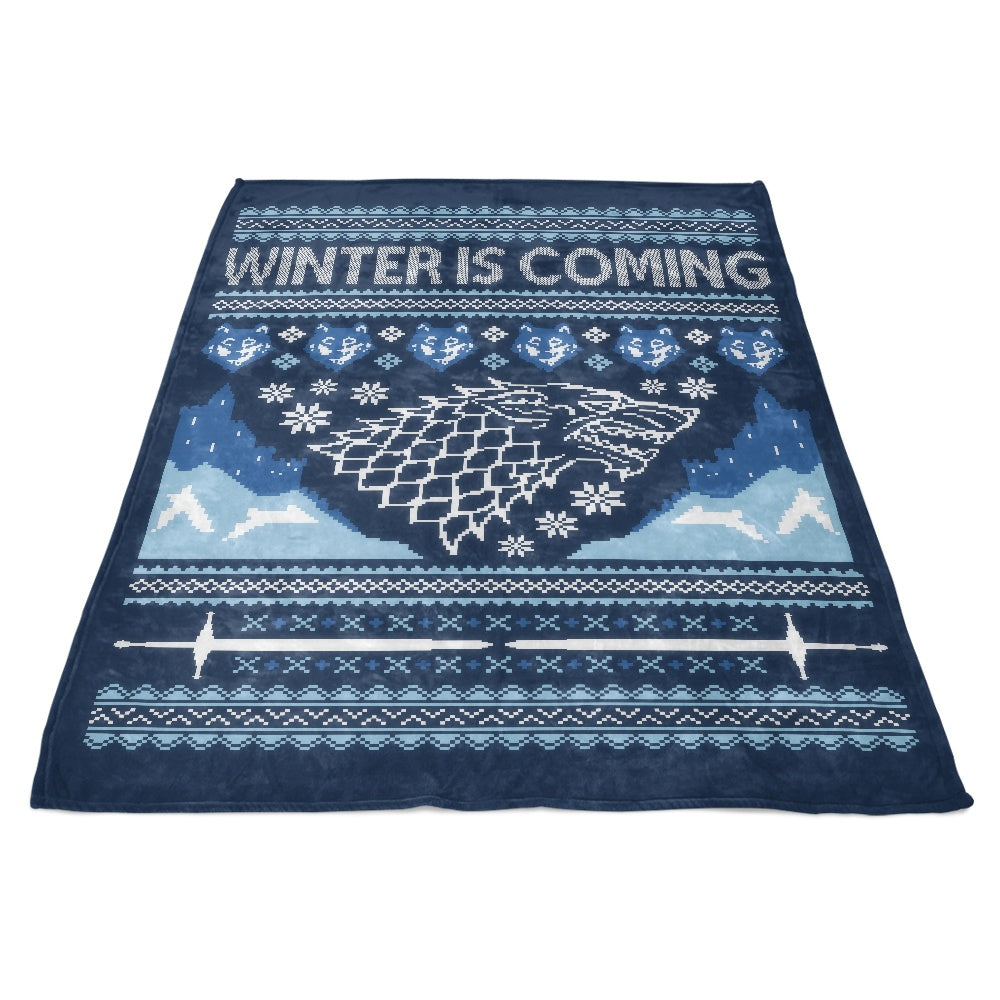 Holidays are Coming (Alt) - Fleece Blanket