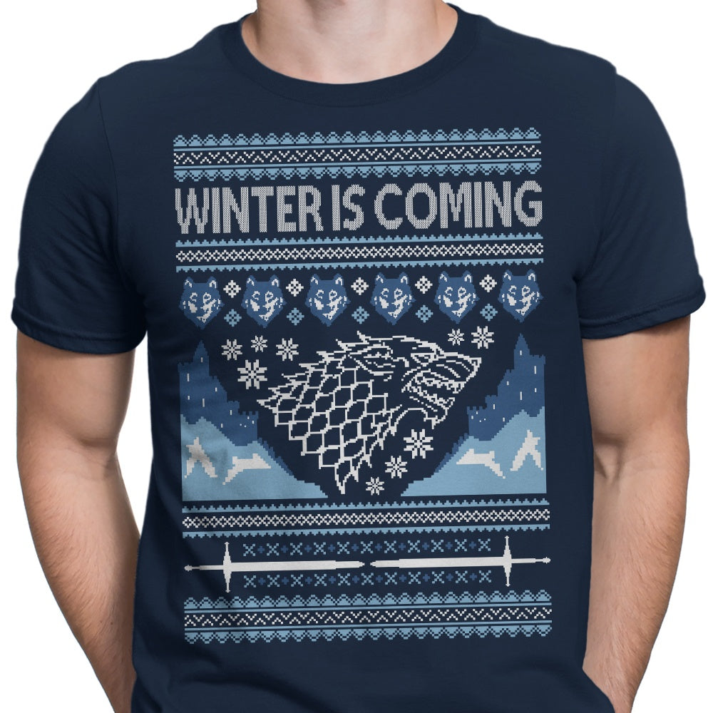 Holidays are Coming (Alt) - Men's Apparel