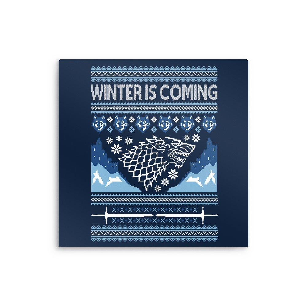 Holidays are Coming (Alt) - Metal Print
