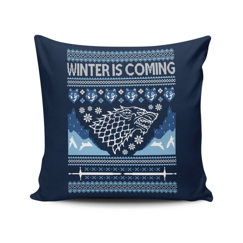 Holidays are Coming (Alt) - Throw Pillow