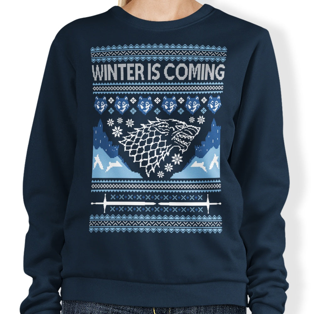 Holidays are Coming (Alt) - Sweatshirt
