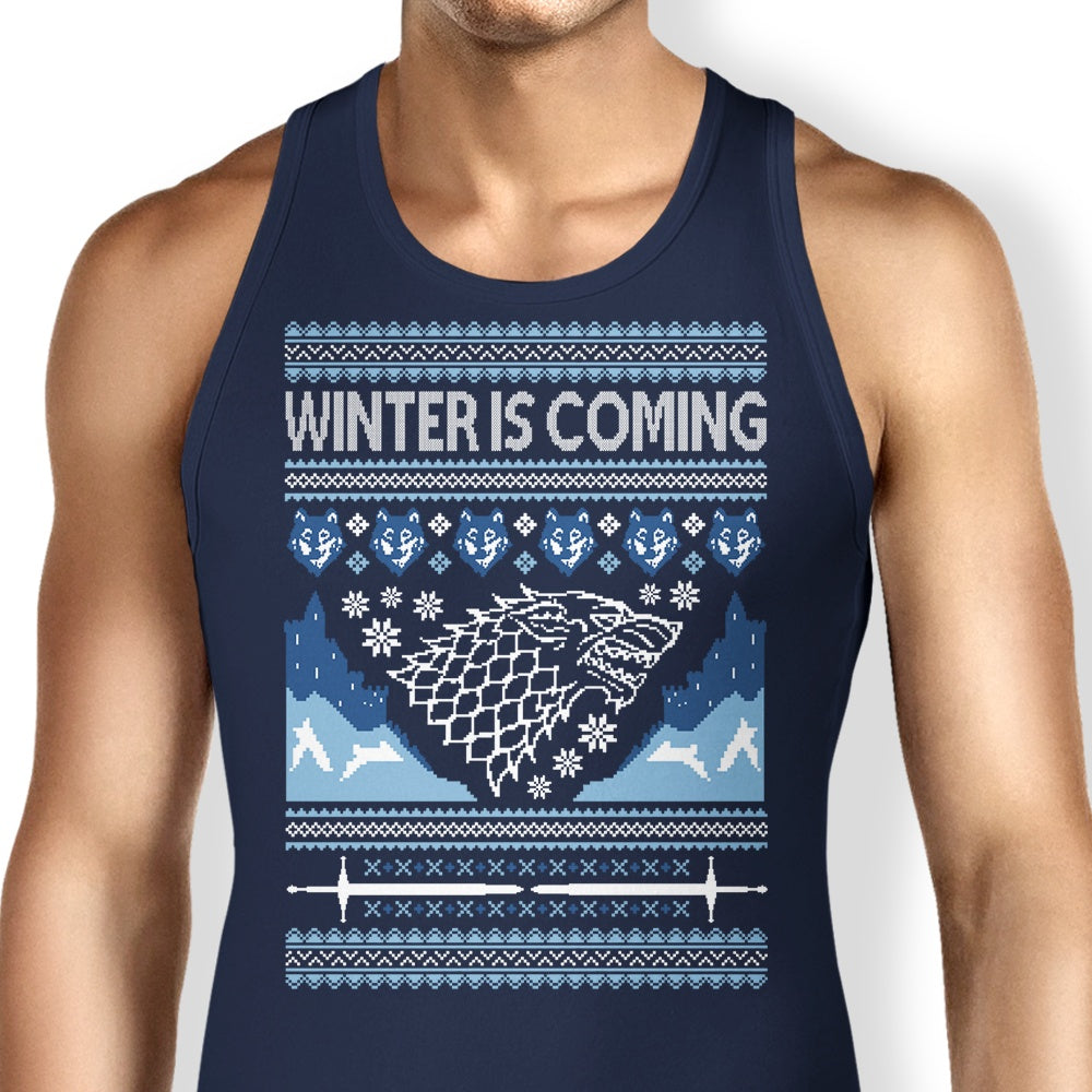 Holidays are Coming (Alt) - Tank Top