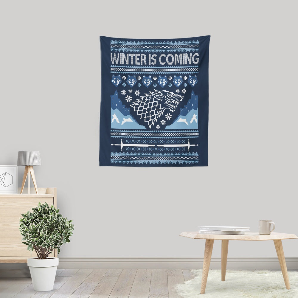 Holidays are Coming (Alt) - Wall Tapestry
