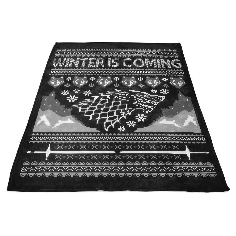 Holidays are Coming - Fleece Blanket