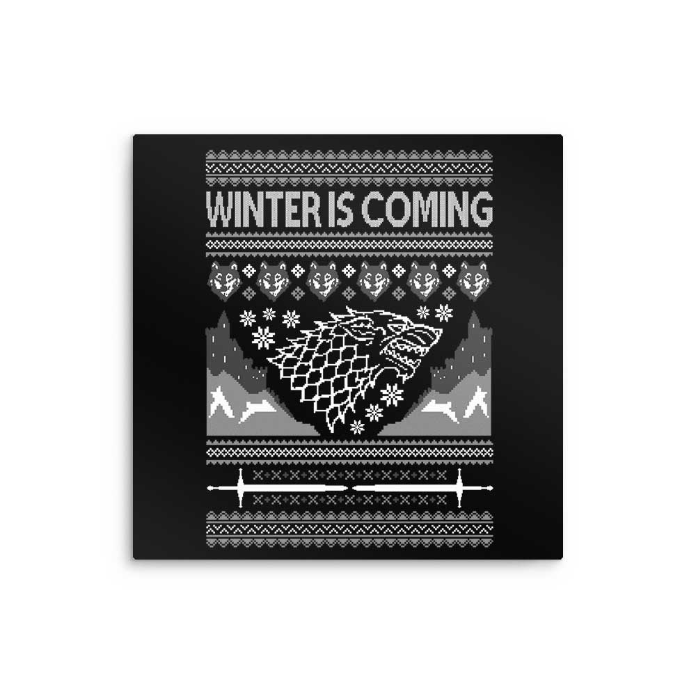 Holidays are Coming - Metal Print