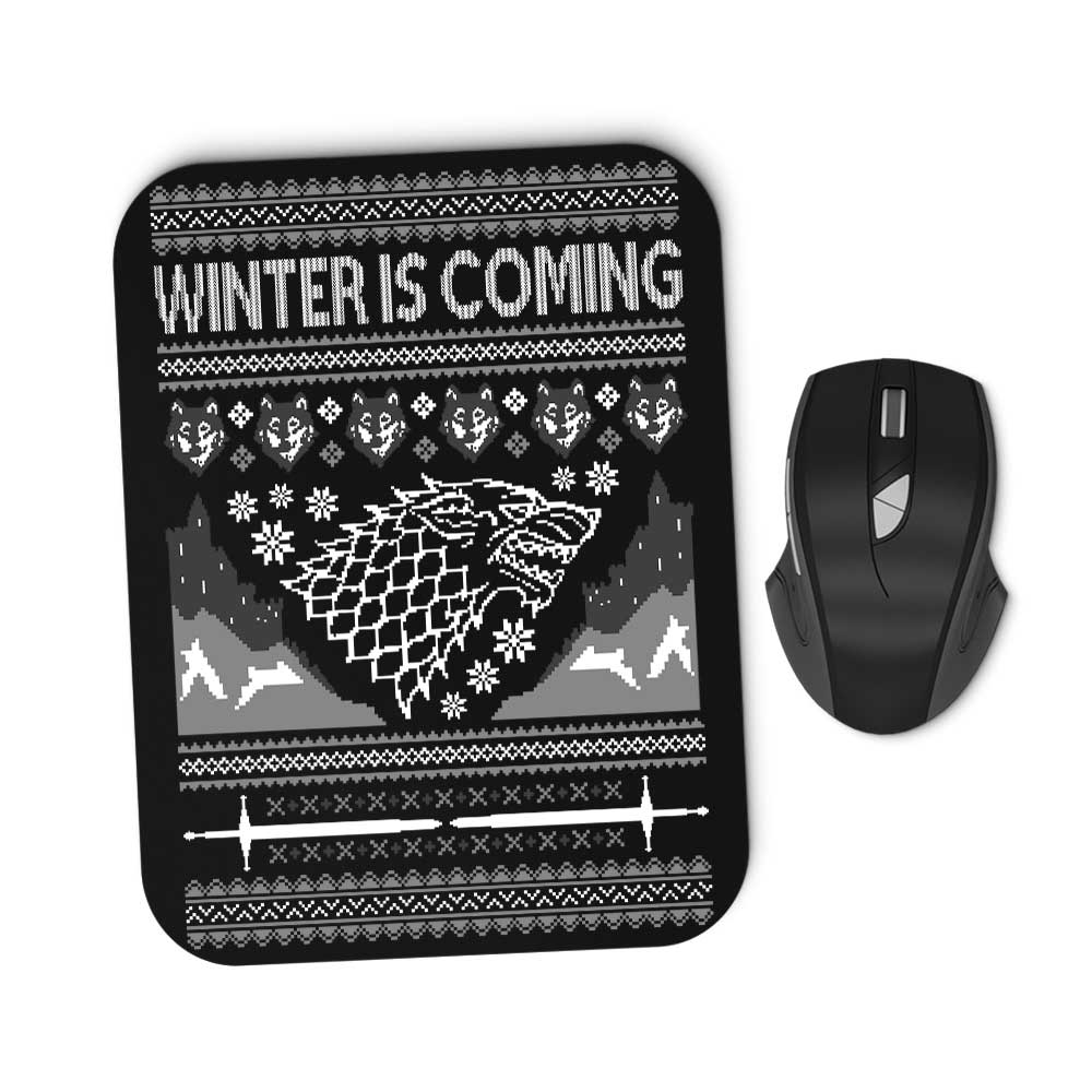 Holidays are Coming - Mousepad
