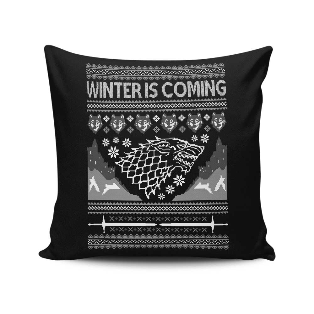 Holidays are Coming - Throw Pillow