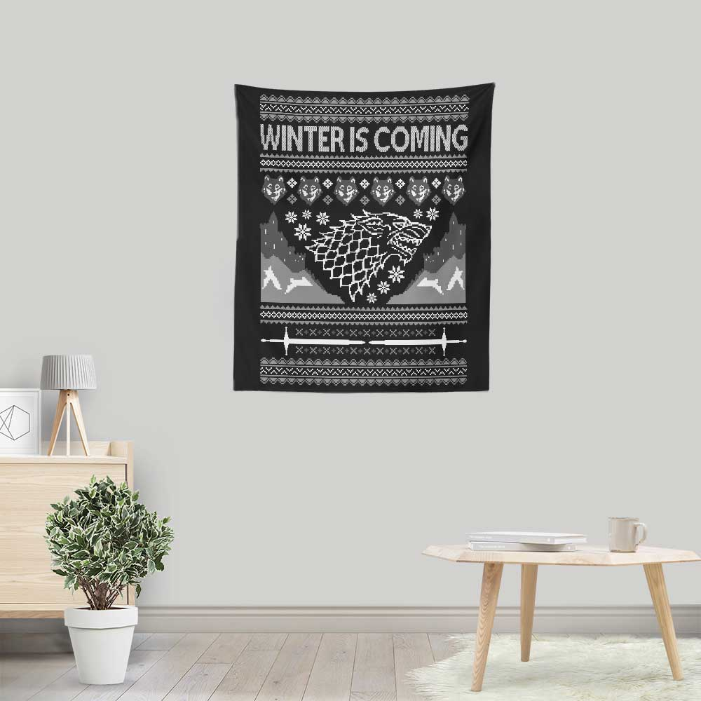 Holidays are Coming - Wall Tapestry