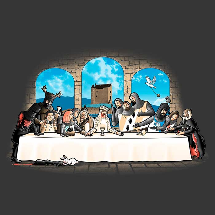 Holy Grail Dinner T-Shirt