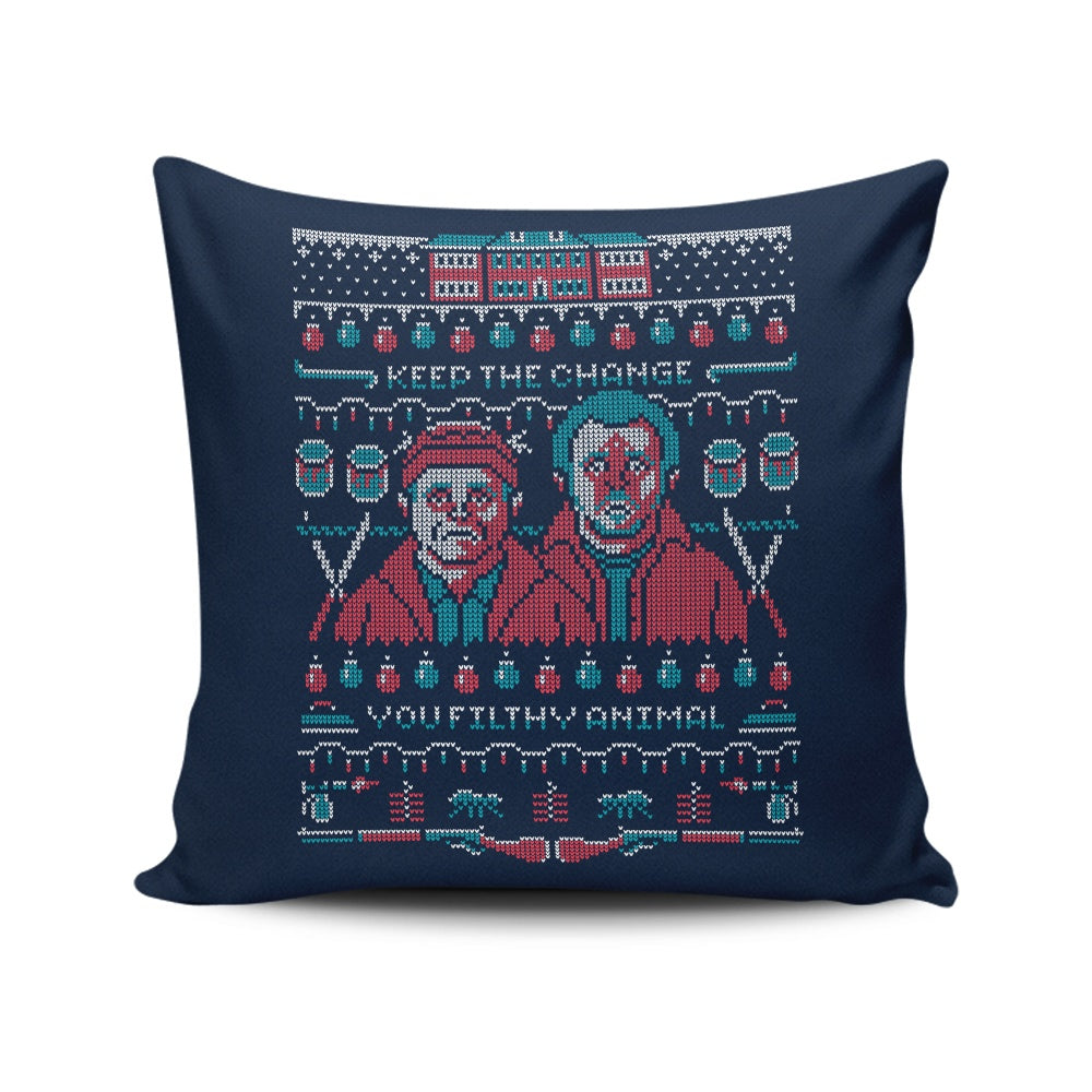Home Alone - Throw Pillow