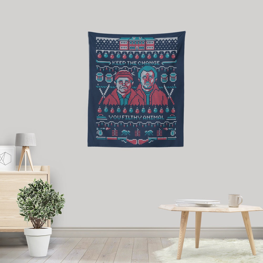 Home Alone - Wall Tapestry