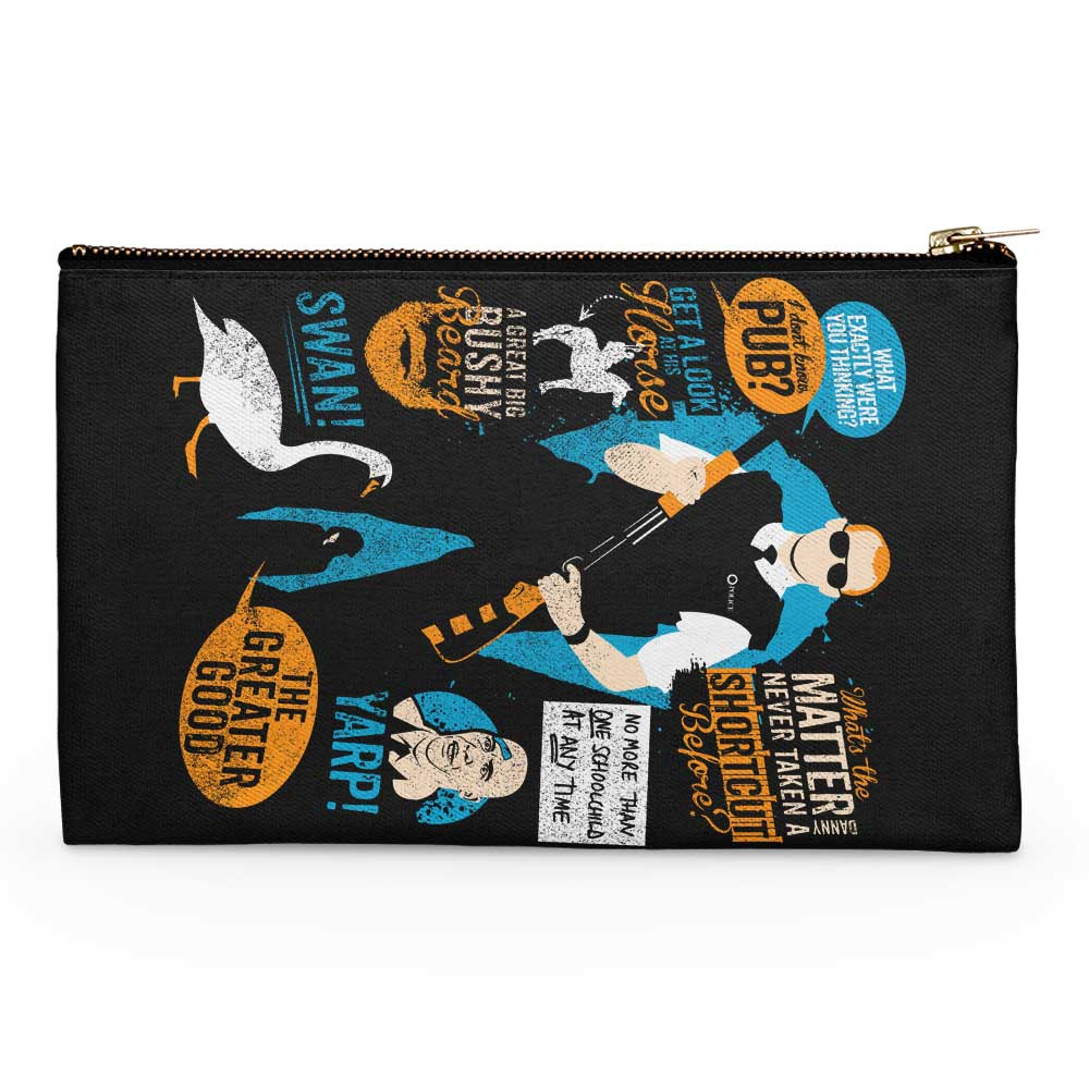 Hot Fuzz Quotes - Accessory Pouch