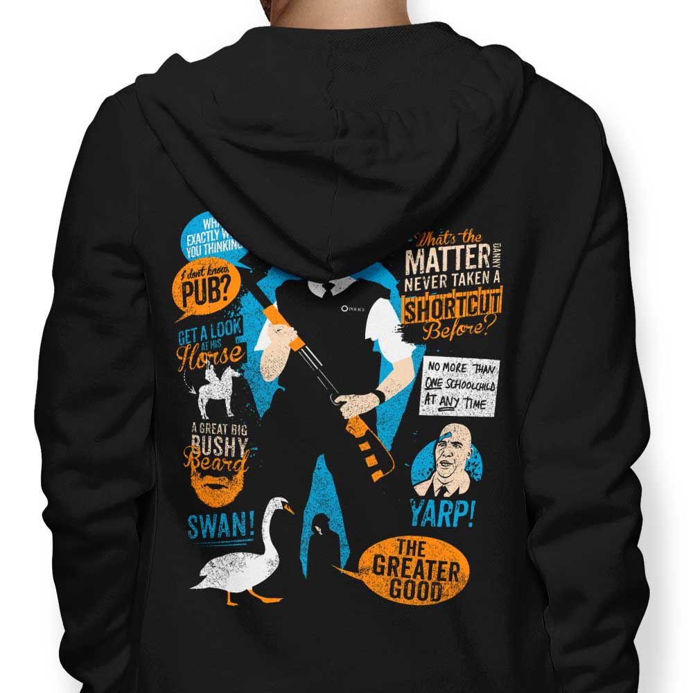 Hot Fuzz Quotes - Hoodie