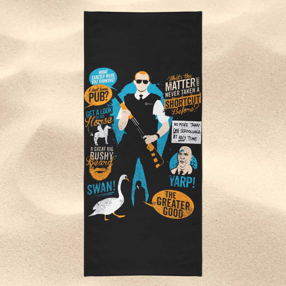 Hot Fuzz Quotes - Towel