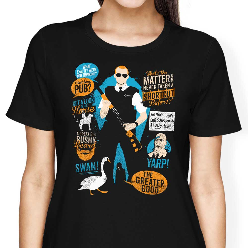Hot Fuzz Quotes - Women's Apparel