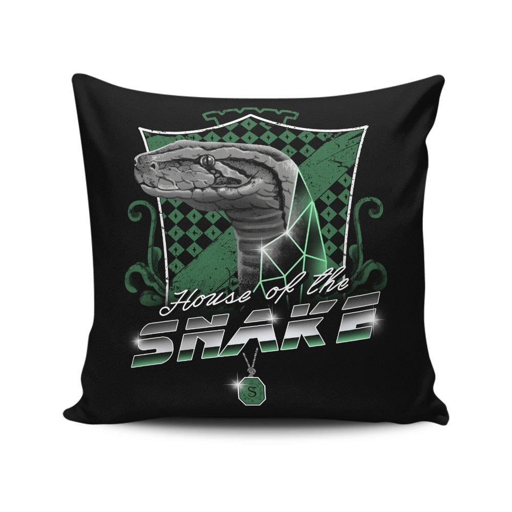 House of the Cunning - Throw Pillow
