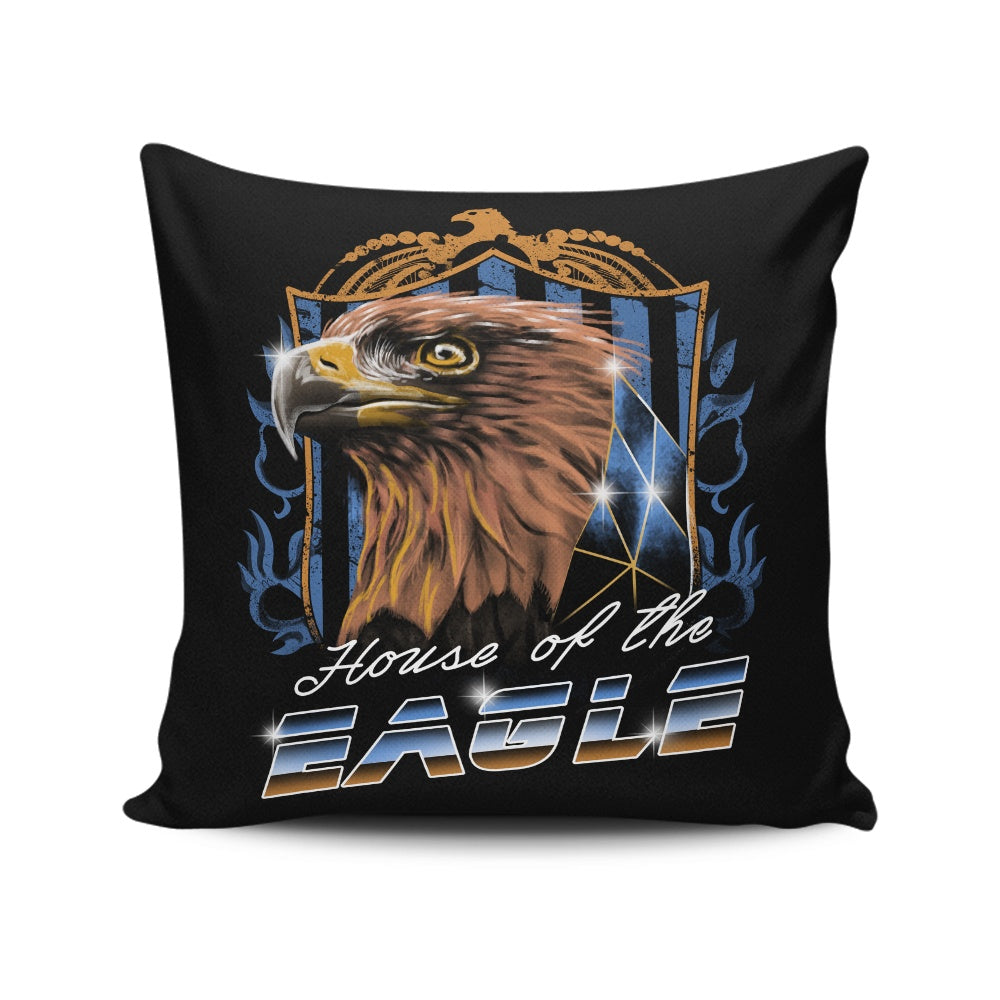 House of the Wise (Bronze) - Throw Pillow