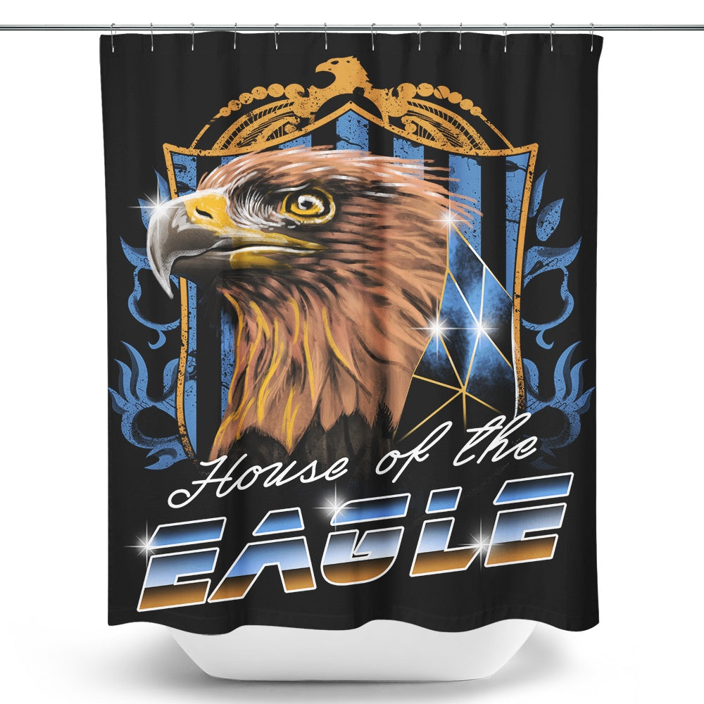 House of the Wise (Bronze) - Shower Curtain