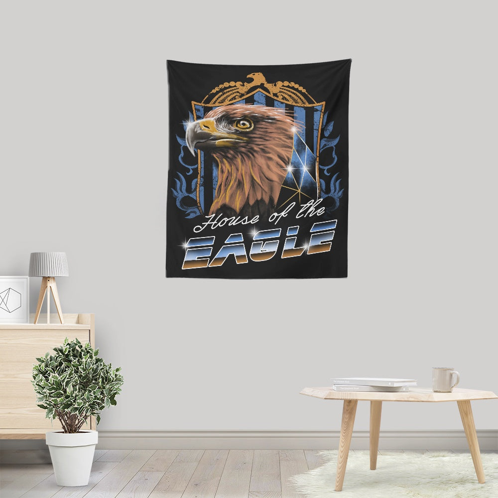 House of the Wise (Bronze) - Wall Tapestry