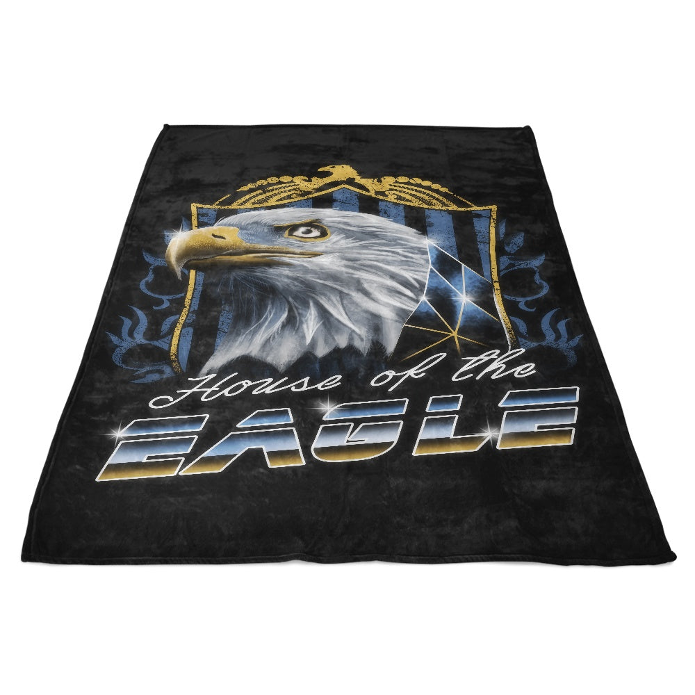 House of the Wise - Fleece Blanket