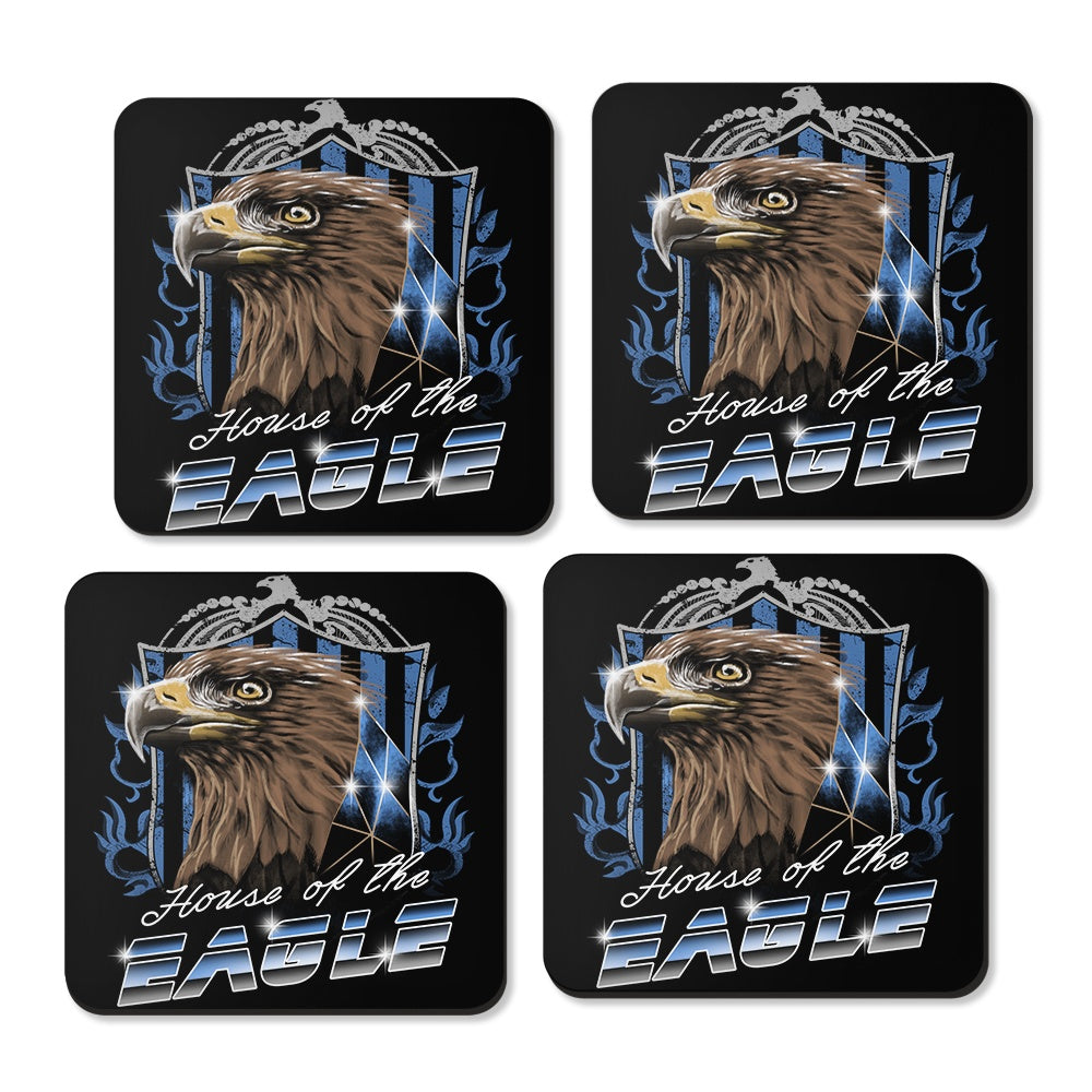 House of the Wise (Silver) - Coasters