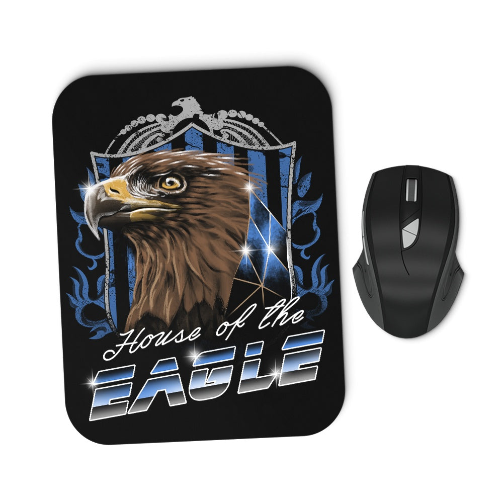 House of the Wise (Silver) - Mousepad