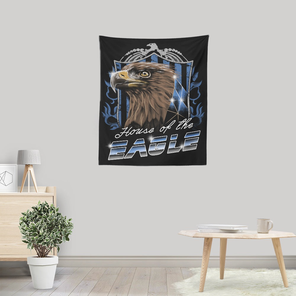 House of the Wise (Silver) - Wall Tapestry