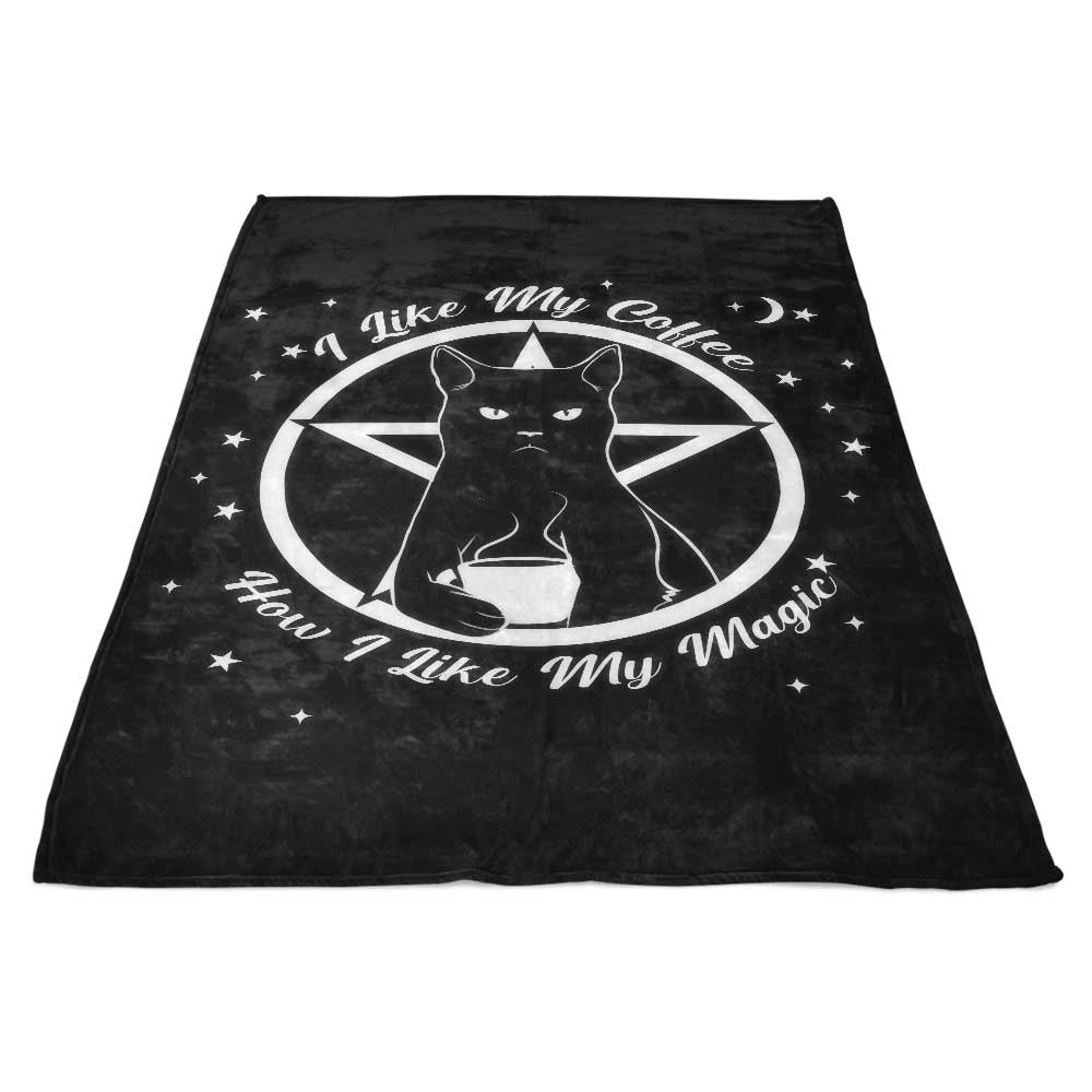 How I Like My Magic - Fleece Blanket