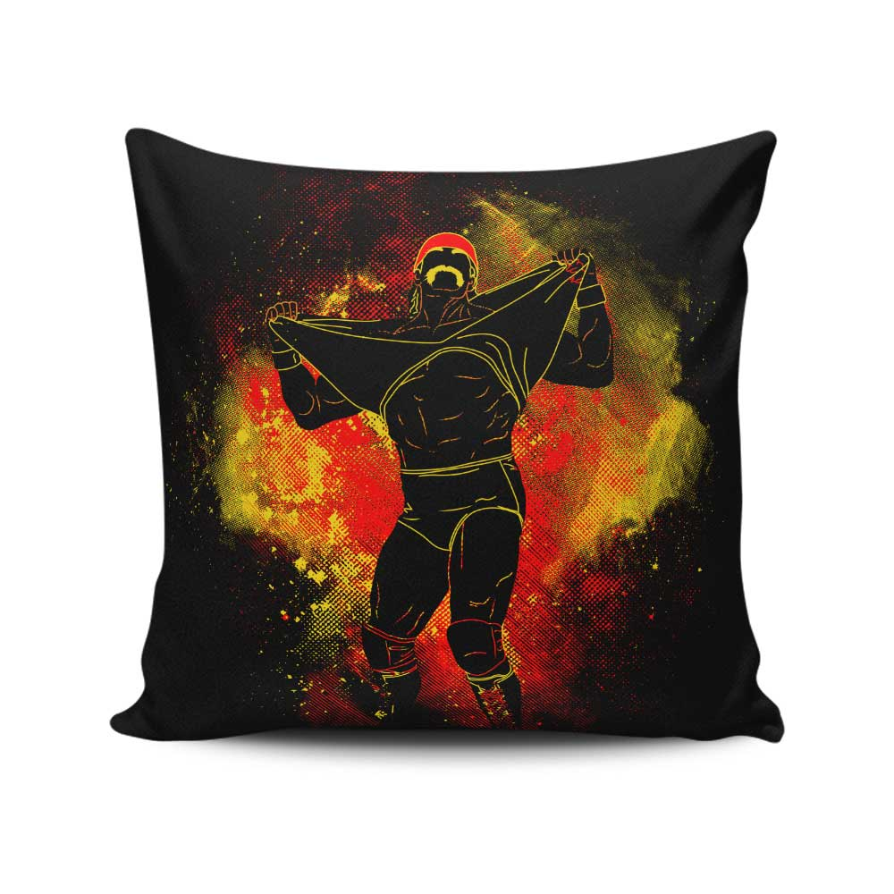 Hulkster Art - Throw Pillow