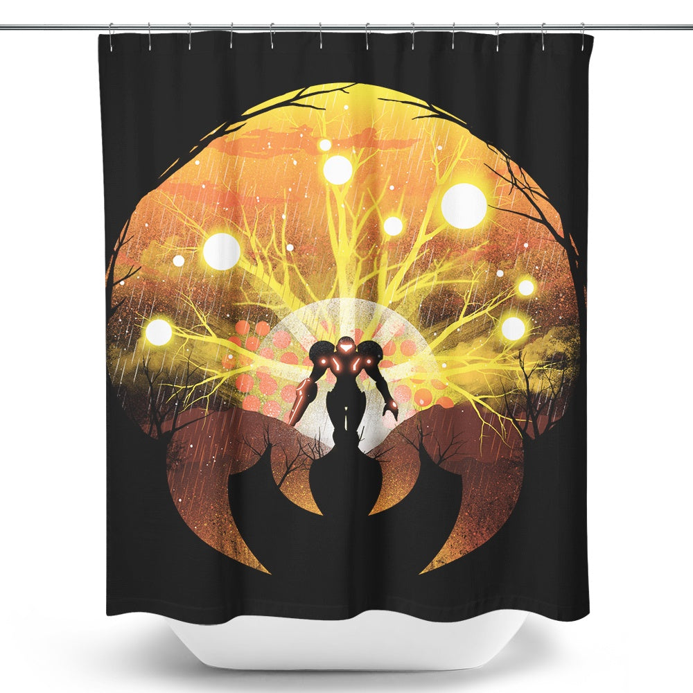 Hunt the Sun - Shower Curtain