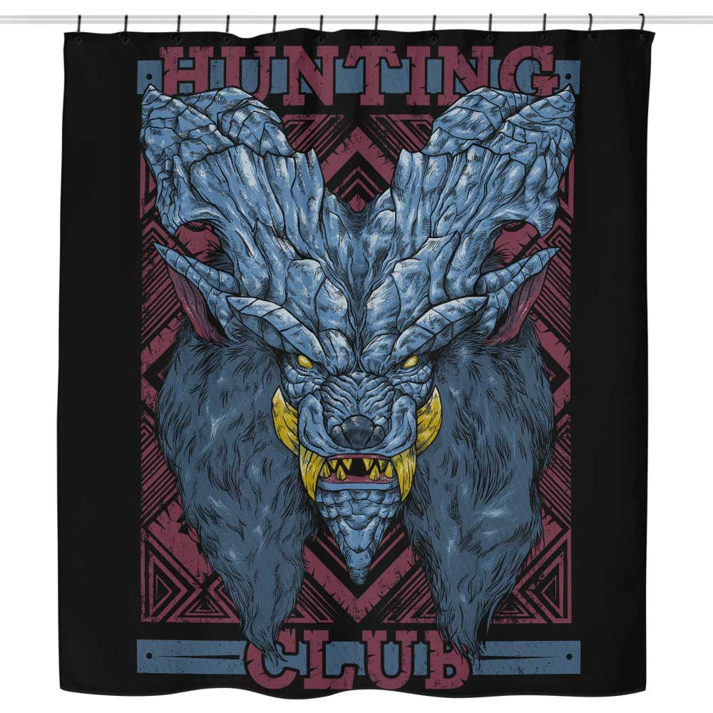 Hunting Club: Lunastra - Shower Curtain