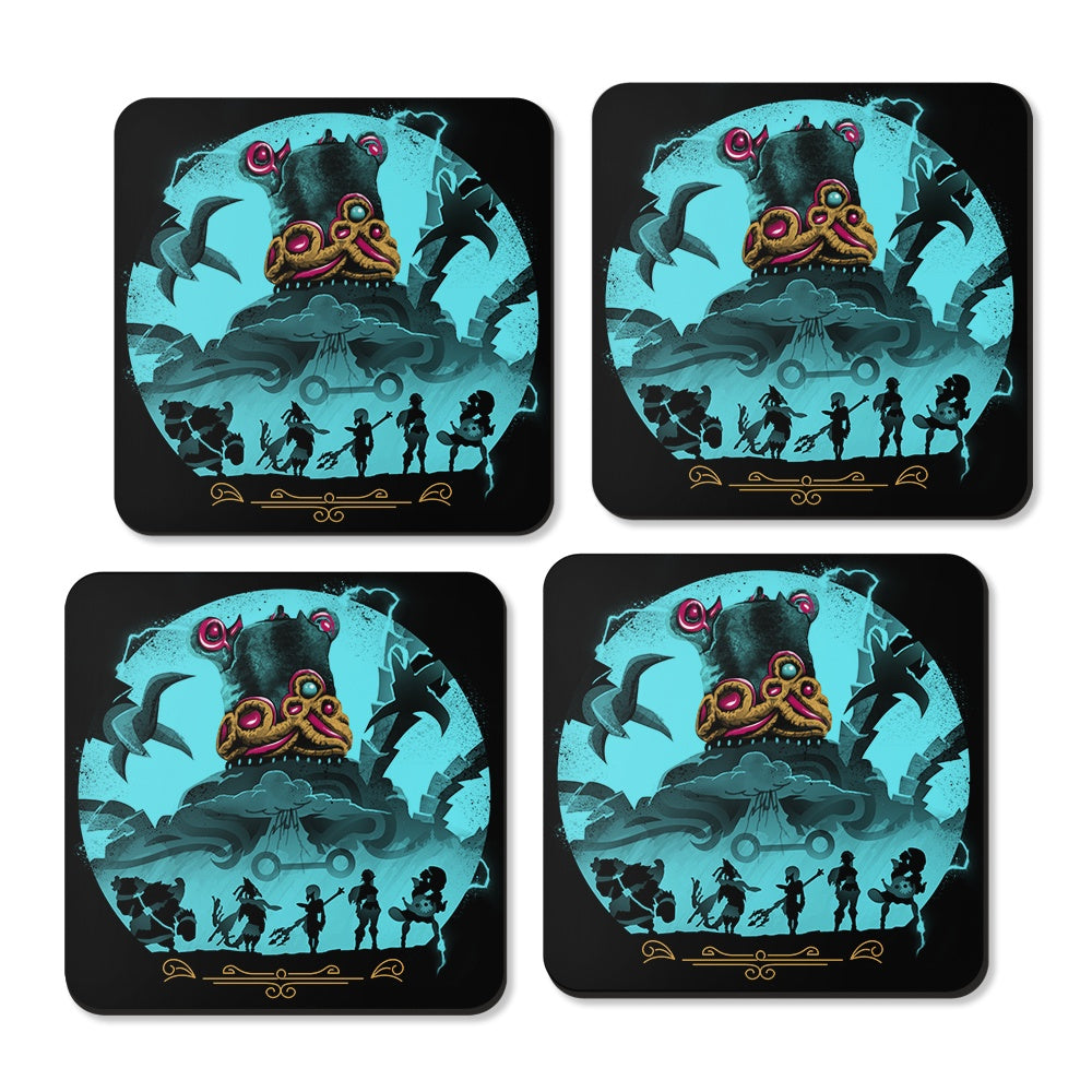 Hylian Guardians - Coasters