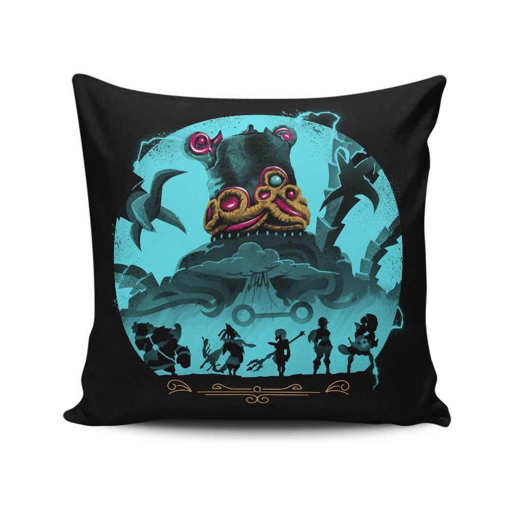 Hylian Guardians - Throw Pillow