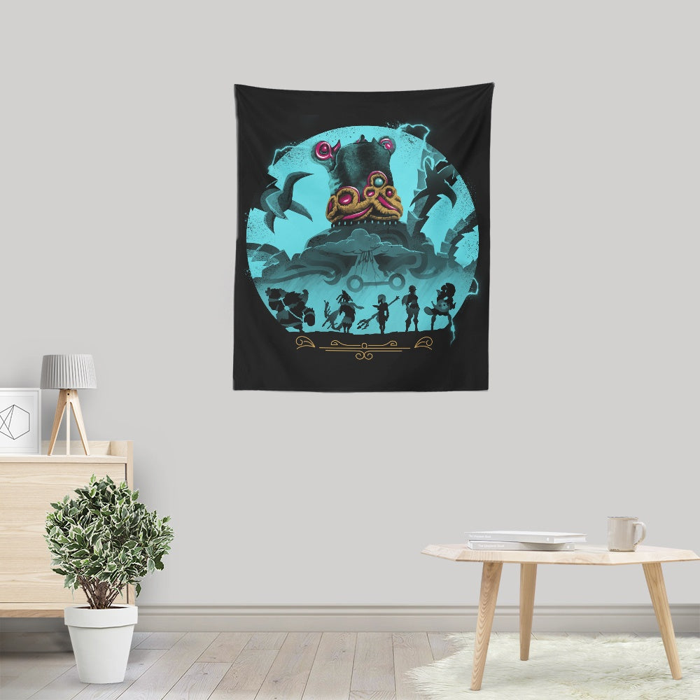 Hylian Guardians - Wall Tapestry