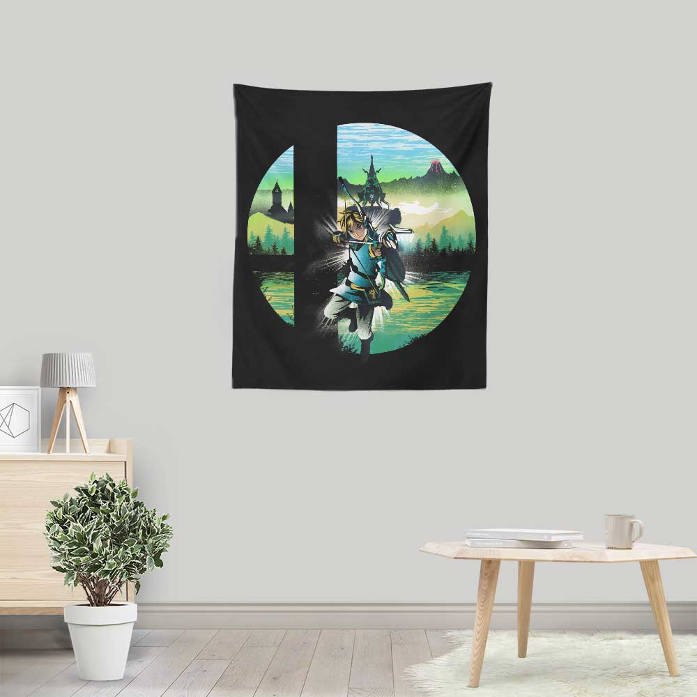 Hylian Smash - Wall Tapestry