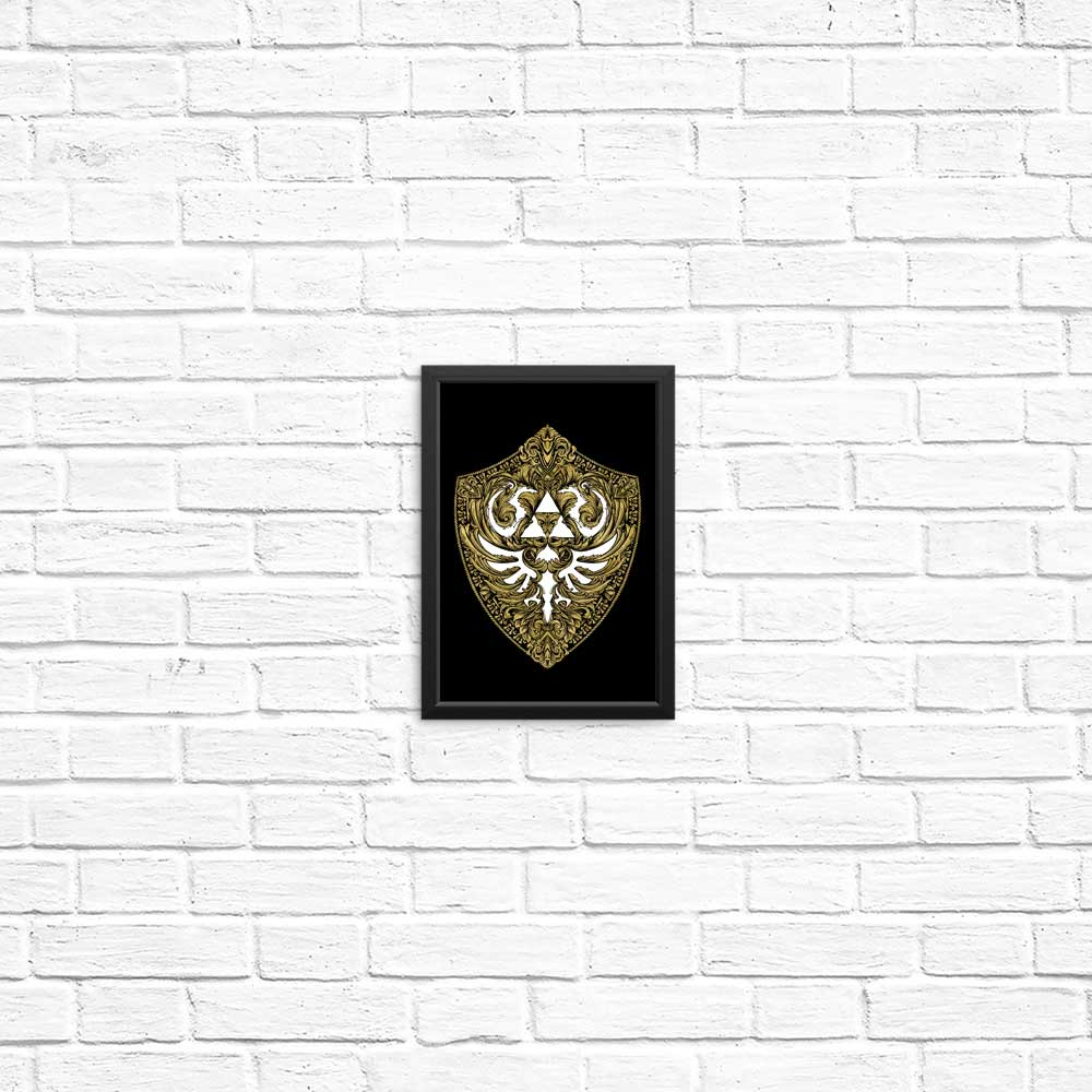 Hylian Victoriana (Gold) - Posters & Prints