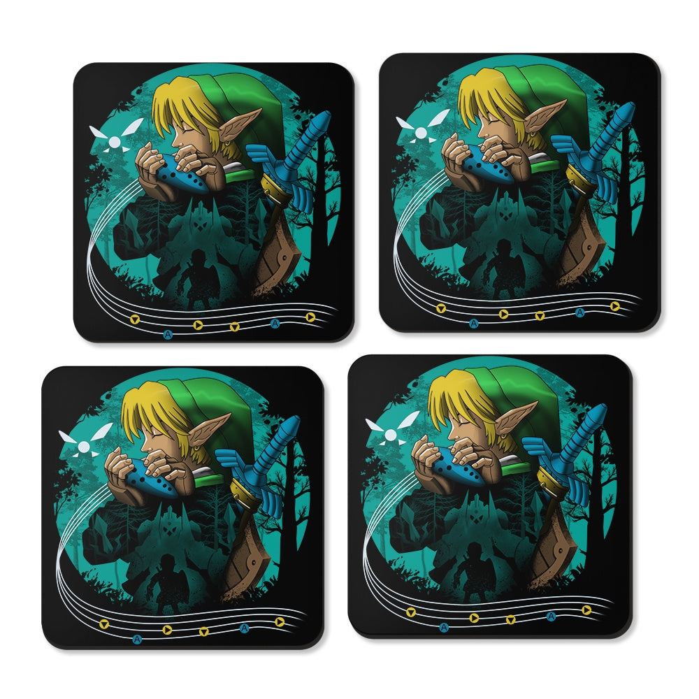 Hyrule Time Traveler - Coasters